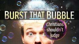 Christians shouldn't judge